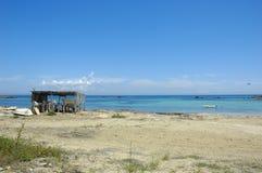 Playa de Formentera Fotos de archivo libres de regalías