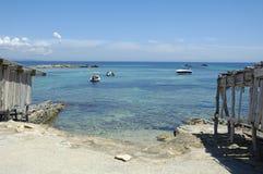 Playa de Formentera Fotografía de archivo libre de regalías