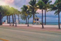 Playa de Fort Lauderdale Imágenes de archivo libres de regalías