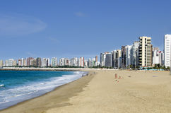Playa de Fortaleza - el Brasil Foto de archivo