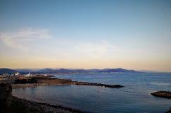 Playa de Francia, Antibes Imagenes de archivo