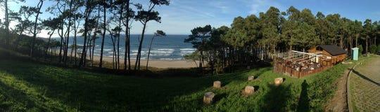 Playa de Frexulfe Stockbild