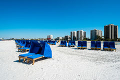 Playa de fuerte Myers foto de archivo