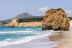 Playa de Fyriplaka Fotos de archivo