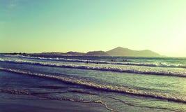 Playa de George de los agios de la onda Fotografía de archivo