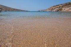 Playa de Gerolimnionas Fotos de archivo