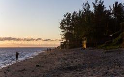 Playa de Gil del santo, La Reunion Island, Francia Fotografía de archivo libre de regalías