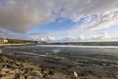 Playa de Gil del santo, La Reunion Island, Francia Fotos de archivo