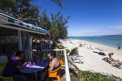 Playa de Gil del santo, La Reunion Island, Francia Imagen de archivo