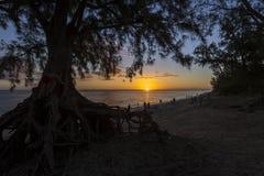 Playa de Gil del santo, La Reunion Island, Francia Imágenes de archivo libres de regalías