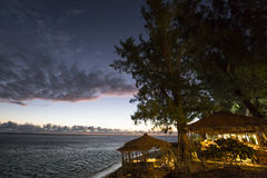 Playa de Gil del santo, La Reunion Island, Francia Foto de archivo libre de regalías