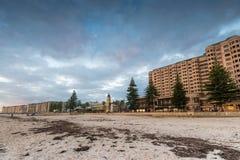 Playa de Glenelg, sur de Australia foto de archivo libre de regalías