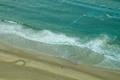 Playa de Gold Coast Foto de archivo libre de regalías