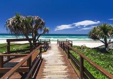 Playa de Gold Coast Fotos de archivo libres de regalías