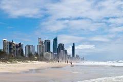 Playa de Gold Coast Fotografía de archivo libre de regalías