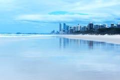 Playa de Gold Coast Imagenes de archivo