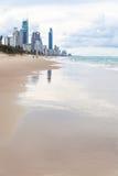 Playa de Gold Coast de Australia Imagen de archivo