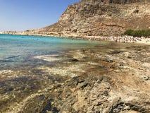Playa de Gramvousa Foto de archivo