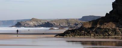 Playa de Great Western Foto de archivo libre de regalías