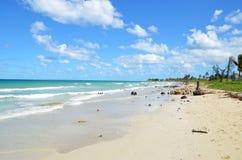 Playa de Guanabo fotografía de archivo libre de regalías