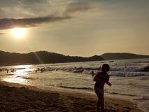 Playa de Guayabitos imágenes de archivo libres de regalías