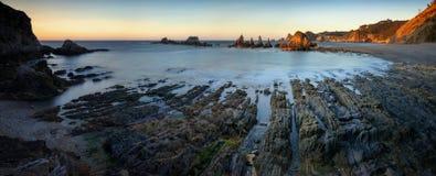 Playa de Gueirua стоковое изображение