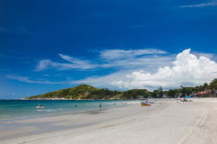Playa de Haad-Rin, Koh Phangan, Tailandia Imagen de archivo libre de regalías