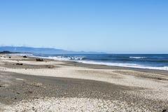 Playa de Haast Imágenes de archivo libres de regalías