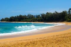 Playa de Haena Imagen de archivo libre de regalías