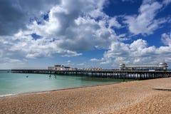 Playa de Hastings imágenes de archivo libres de regalías