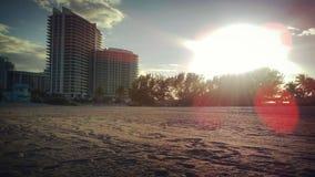 Playa de Haulover Imagen de archivo libre de regalías
