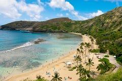 Playa de Hawaii Foto de archivo libre de regalías
