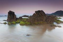 Playa de Helgueras Fotografía de archivo libre de regalías