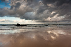Playa de Helgueras Imagen de archivo