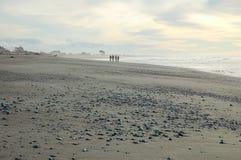 Playa de Hokitika - costa oeste Fotos de archivo