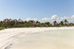 Playa de Holbox Imagenes de archivo