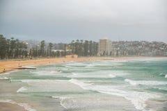 Playa de hombres Imágenes de archivo libres de regalías