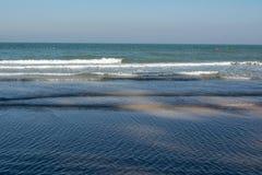 Playa de Hua Hin en Prachuap Khiri Khan Thailand Imagenes de archivo
