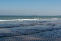 Playa de Hua Hin en Prachuap Khiri Khan Thailand Fotografía de archivo