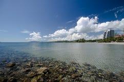 Playa de Hua Hin, Tailandia Foto de archivo libre de regalías
