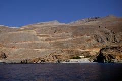 Playa de Iligas imagen de archivo
