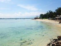 Playa de Indonesia Fotos de archivo libres de regalías