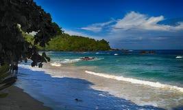 Playa de Indrayanti fotos de archivo