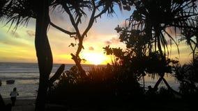 Playa de Indrayanti imágenes de archivo libres de regalías