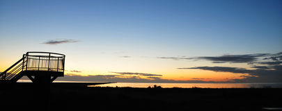 Playa de Iona Imagen de archivo