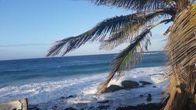 Playa de Isla Verde, San Juan Fotos de archivo libres de regalías