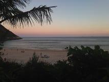 Playa de Itacoatiara Fotos de archivo libres de regalías