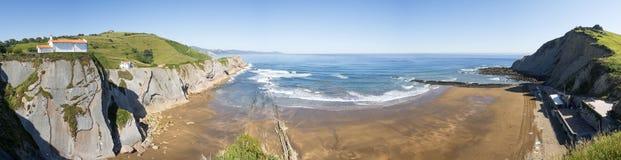 Playa de Itzurun Fotos de archivo