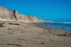 Playa de Jalama cerca de Lompoc Fotografía de archivo libre de regalías