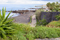 Playa de Jardin Fotografering för Bildbyråer